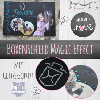 Boxenschild Magic Effect